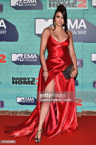 Emma Miller attends the MTV EMAs 2017 at The SSE Arena Wembley on November 12 2017 in London England