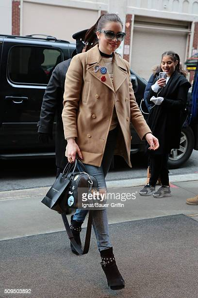 Emma Miller is seen on February 10 2016 in New York City