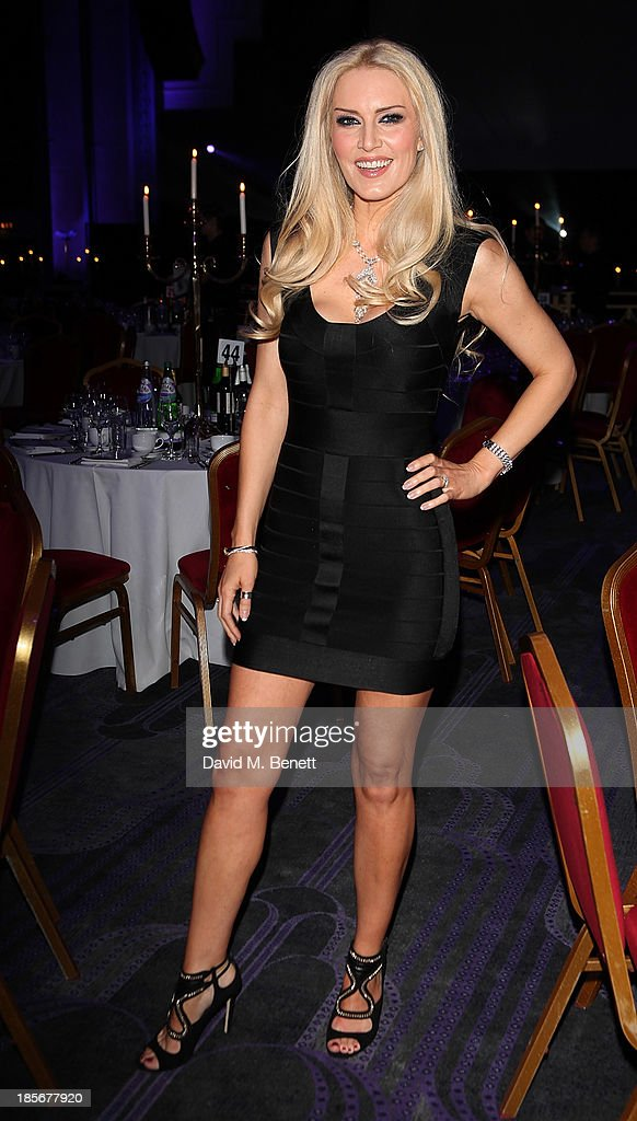 Emma NobelBaker attends the London Lifestyle Awards at the Troxy on October 23 2013 in London England