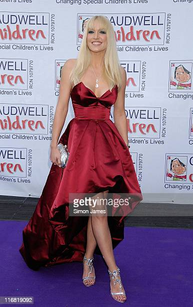 Emma Noble arrives for the Caudwell Children 'The Legends Ball' at Battersea Evolution on May 8 2008 in London England