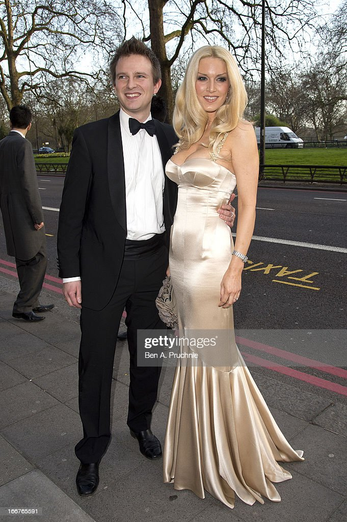 Emma Noble attends The Asian Awards at Grosvenor House, on April 16, 2013 in London, England.