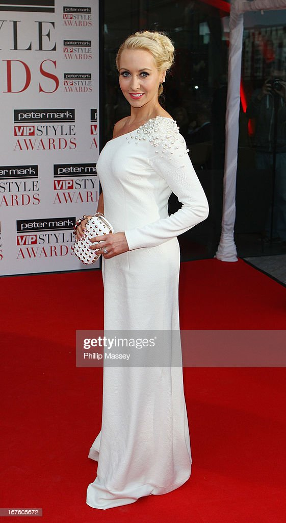 Emma O'Driscoll attends the Peter Mark VIP Style Awards at Marker Hotel on April 26, 2013 in Dublin, Ireland.
