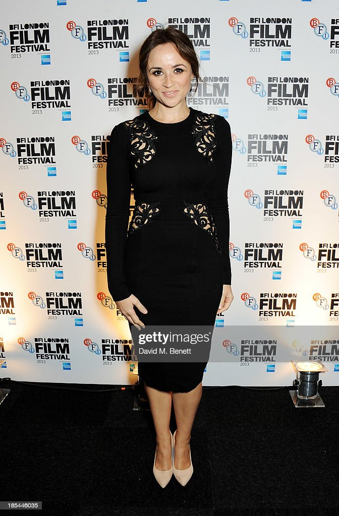Emma Pierson attend an after party for the Closing Night Gala European Premiere of 'Saving Mr Banks' during the 57th BFI London Film Festival at The Old Billingsgate on October 20, 2013 in London, England.
