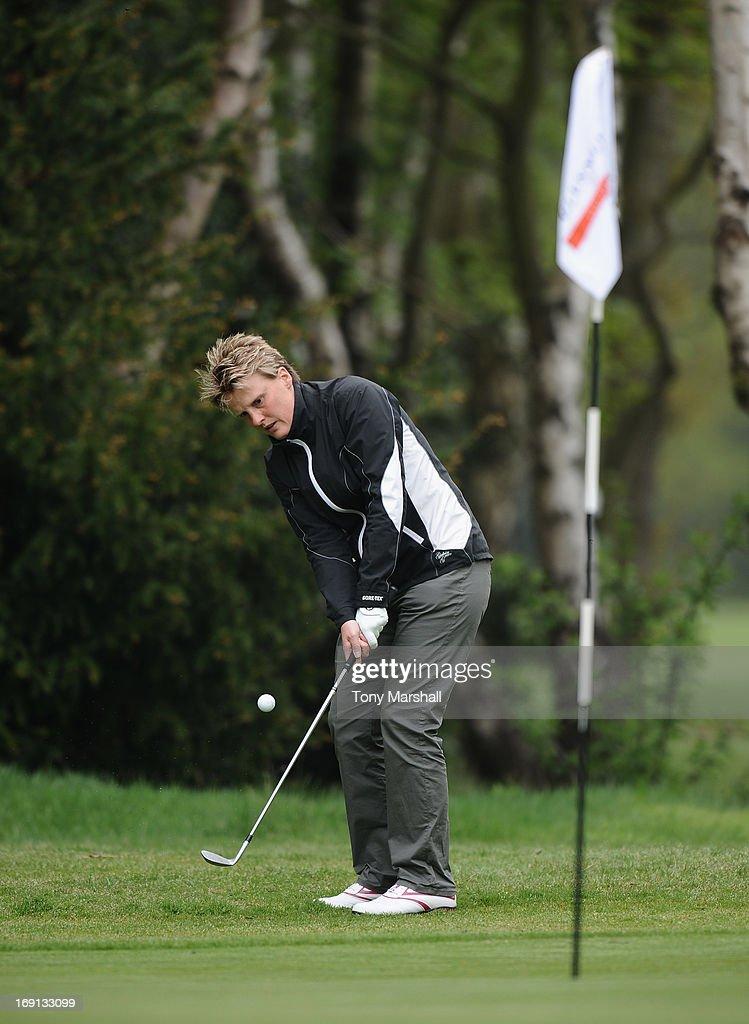 Emma Prentice of Gog Magog Golf Club during the Glenmuir Women's PGA Professional Championship - Regional Qualifier at Little Aston Golf Club on May 20, 2013 in Birmingham, England.