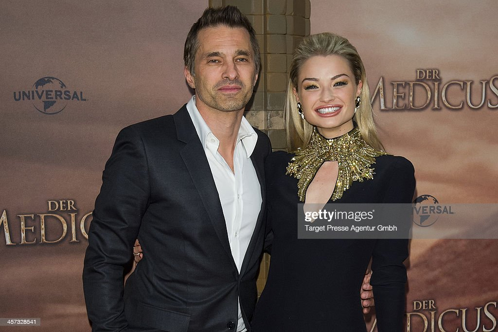 <a gi-track='captionPersonalityLinkClicked' href=/galleries/search?phrase=Emma+Rigby&family=editorial&specificpeople=4304830 ng-click='$event.stopPropagation()'>Emma Rigby</a> and <a gi-track='captionPersonalityLinkClicked' href=/galleries/search?phrase=Olivier+Martinez&family=editorial&specificpeople=213013 ng-click='$event.stopPropagation()'>Olivier Martinez</a> attend the German premiere of the film 'The Physician' (german titel: 'Der Medicus') at Zoo Palast on December 16, 2013 in Berlin, Germany.