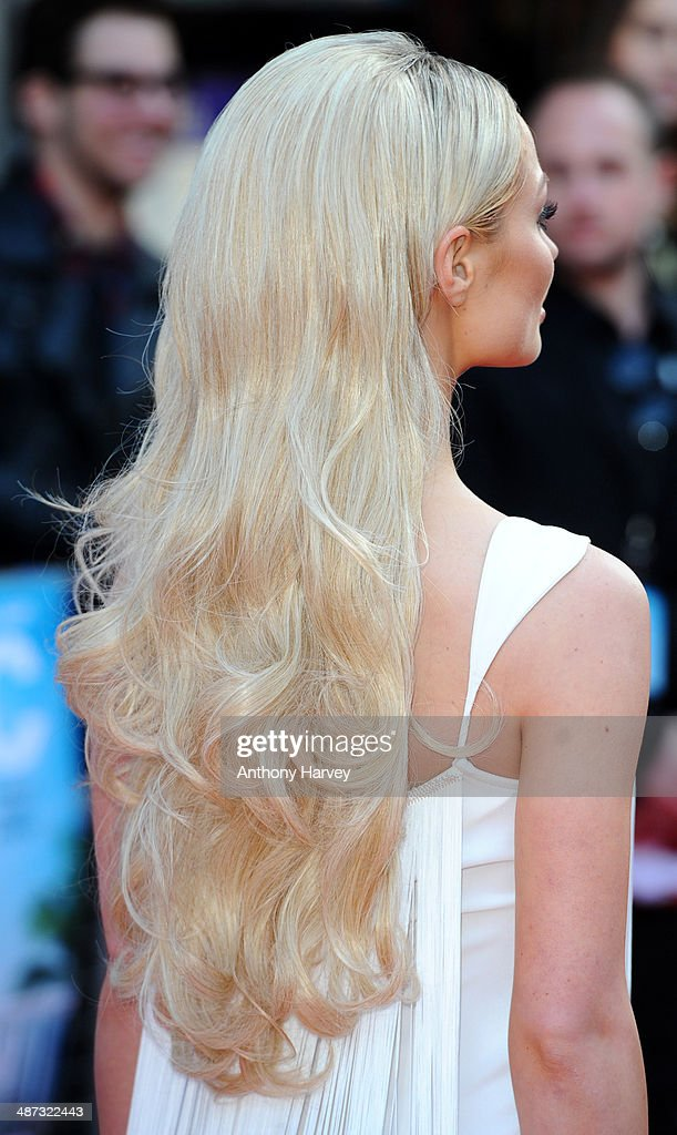 Emma Rigby attends the UK Premiere of 'Plastic' at Odeon West End on April 29, 2014 in London, England.