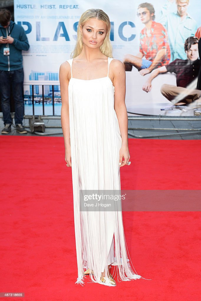 <a gi-track='captionPersonalityLinkClicked' href=/galleries/search?phrase=Emma+Rigby&family=editorial&specificpeople=4304830 ng-click='$event.stopPropagation()'>Emma Rigby</a> attends the UK premiere of 'Plastic' on April 29, 2014 in London, England.
