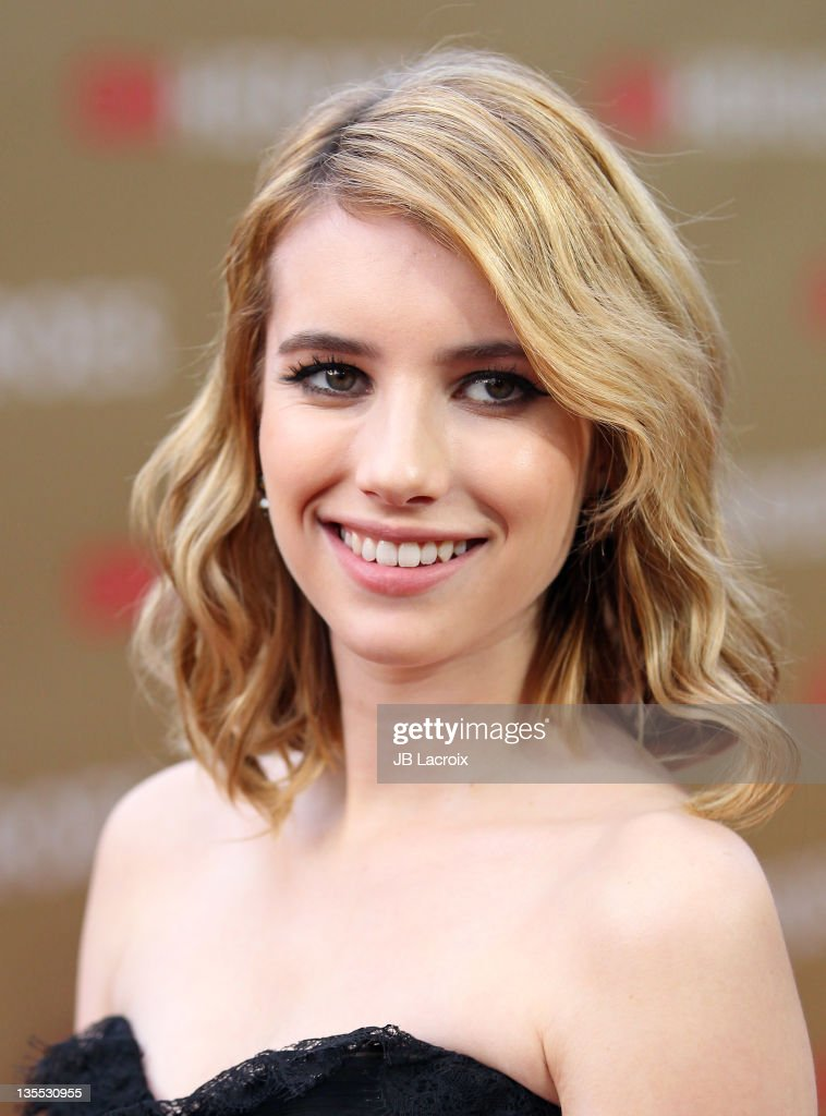 <a gi-track='captionPersonalityLinkClicked' href=/galleries/search?phrase=Emma+Roberts&family=editorial&specificpeople=226535 ng-click='$event.stopPropagation()'>Emma Roberts</a> arrives at the 2011 CNN Heroes: An All-Star Tribute held at The Shrine Auditorium on December 11, 2011 in Los Angeles, California.