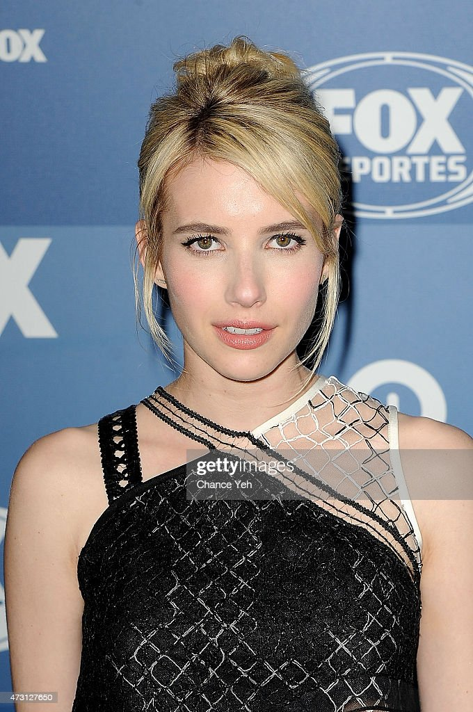 Emma Roberts attends 2015 FOX Programming Presentation at Wollman Rink, Central Park on May 11, 2015 in New York City.