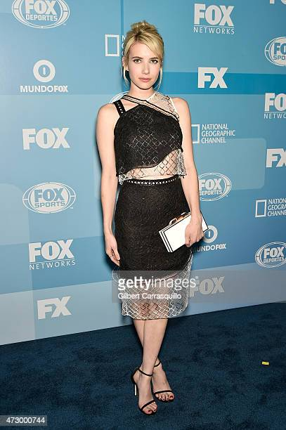 Emma Roberts attends the 2015 FOX Programming Presentation at Wollman Rink Central Park on May 11 2015 in New York City