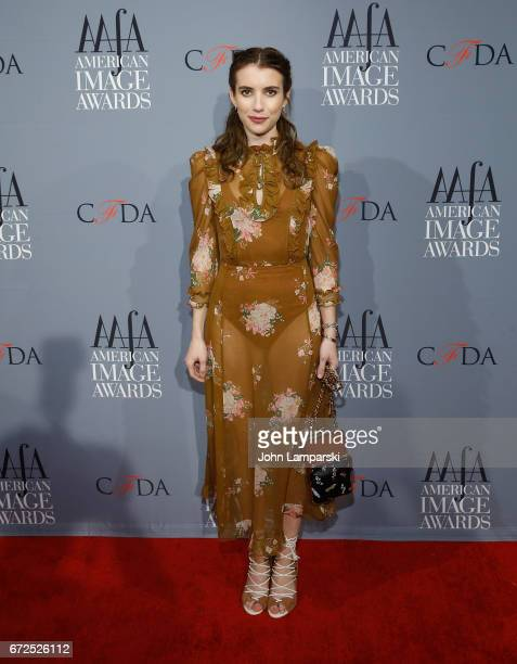 Emma Roberts attends the 39th annual AAFA American Image Awards at 583 Park Avenue on April 24 2017 in New York City