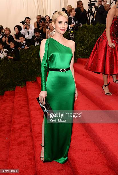 Emma Roberts attends the 'China Through The Looking Glass' Costume Institute Benefit Gala at Metropolitan Museum of Art on May 4 2015 in New York City