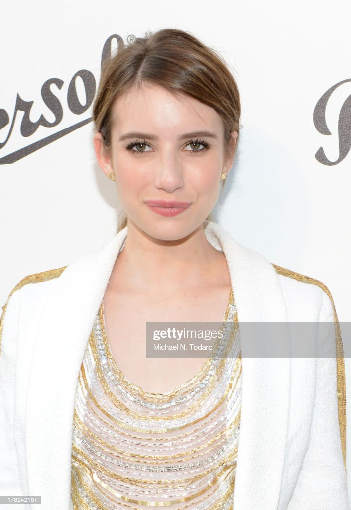 <a gi-track='captionPersonalityLinkClicked' href=/galleries/search?phrase=Emma+Roberts&family=editorial&specificpeople=226535 ng-click='$event.stopPropagation()'>Emma Roberts</a> attends the 'Persol Magnificent Obsessions:30 Stories Of Craftsmanship In Film' Opening at Museum of the Moving Image on July 10, 2013 in the Queens borough of New York City.
