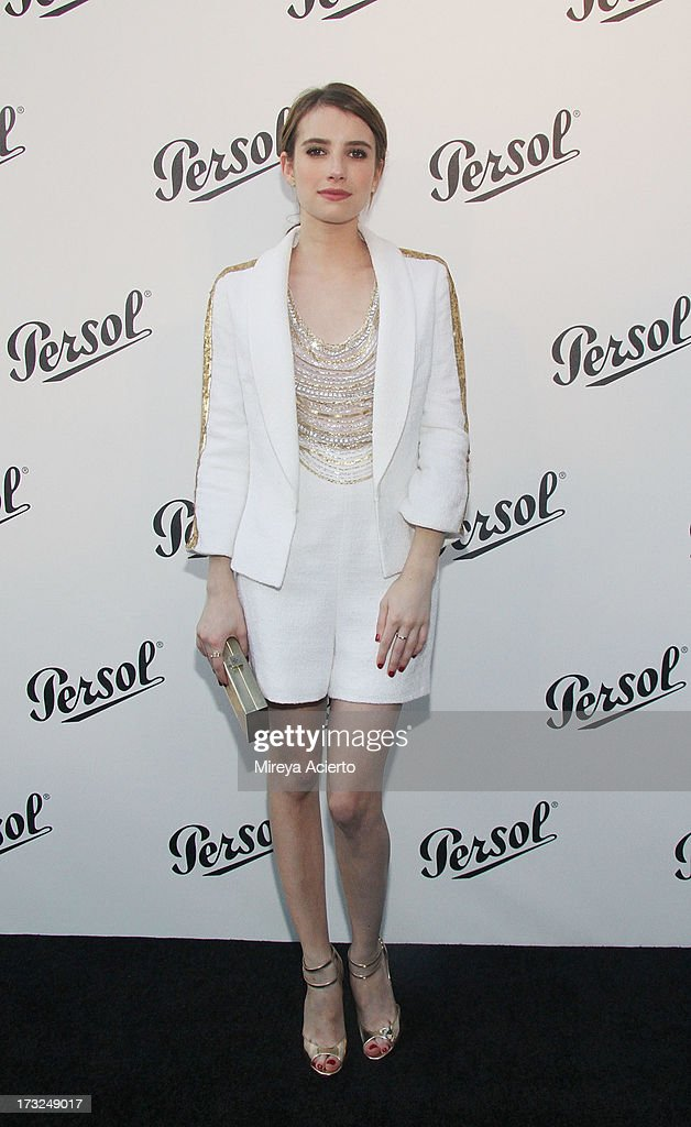 Emma Roberts attends the 'Persol Magnificent Obsessions:30 Stories Of Craftsmanship In Film' Opening at Museum of the Moving Image on July 10, 2013 in the Queens borough of New York City.