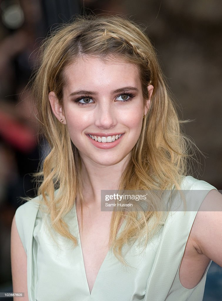 Emma Roberts attends the UK premiere of 'Sex and the City 2' at Odeon Leicester Square on May 27, 2010 in London, England.