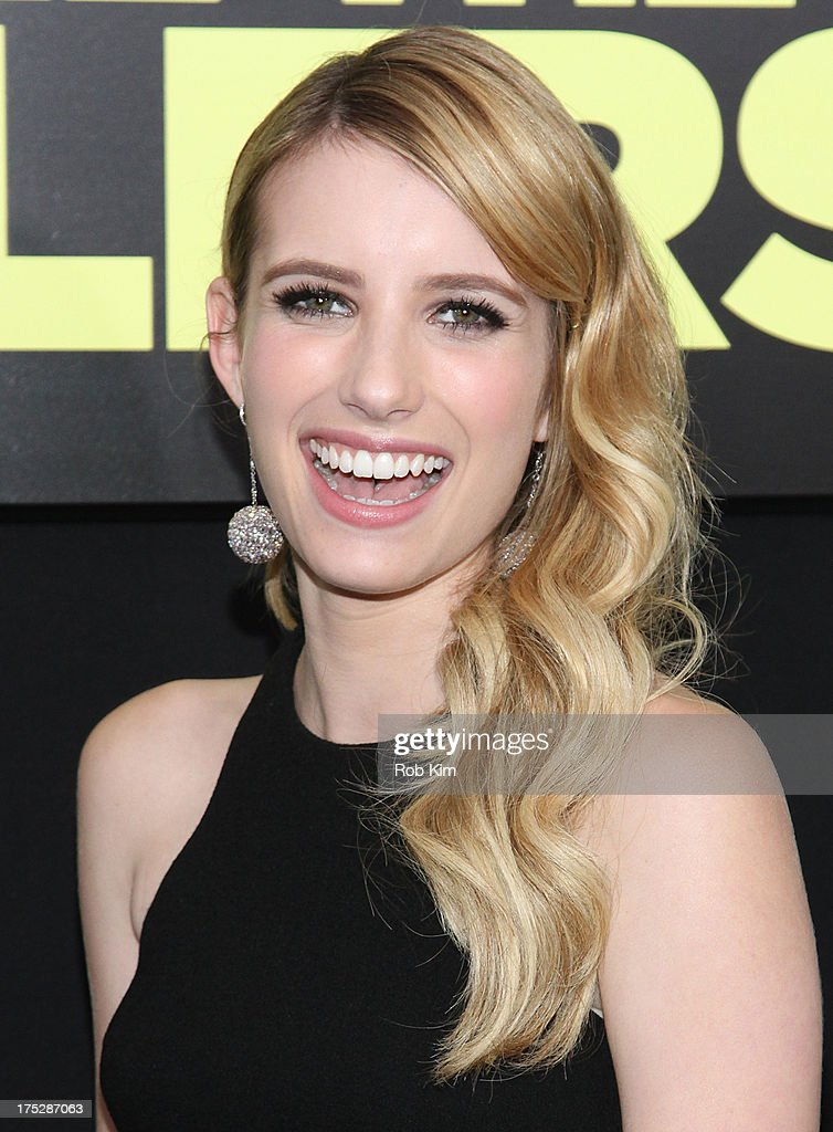 Emma Roberts attends the 'We're The Millers' New York Premiere at Ziegfeld Theater on August 1, 2013 in New York City.