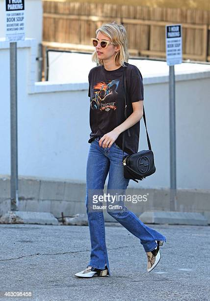 Emma Roberts is seen on February 09 2015 in Los Angeles California