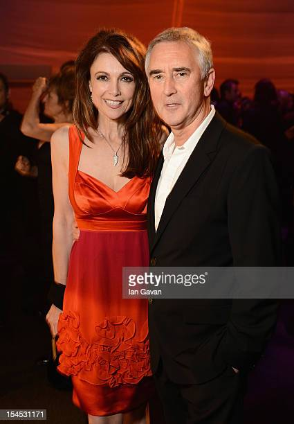 Emma Samms and Denis Lawson attend the afterparty for 'Great Expectations' which closes the 56th BFI London Film Festival at Battersea Power Station...