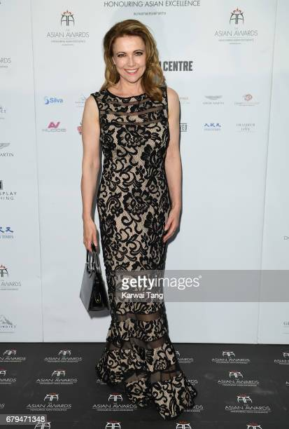 Emma Samms attends The Asian Awards at the Hilton Park Lane on May 5 2017 in London England