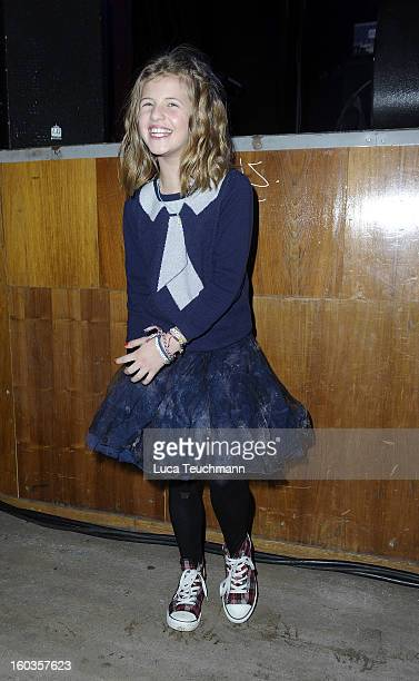 Emma Schweiger attend the after show party to 'Kokowaeaeh 2' Germany Premiere at Astra on January 29 2013 in Berlin Germany