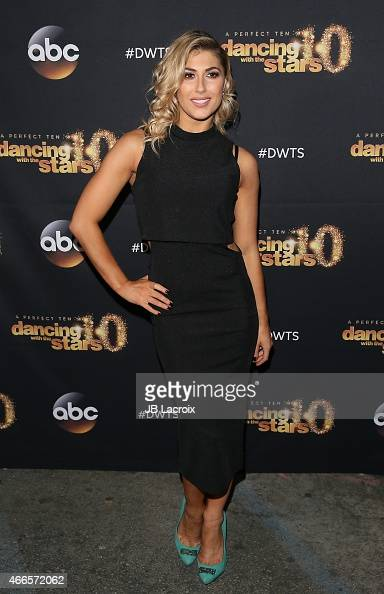 Emma Slater attends ABC's 'Dancing With The Stars' Season Premiere held at Hyde on March 16 2015 in Hollywood California
