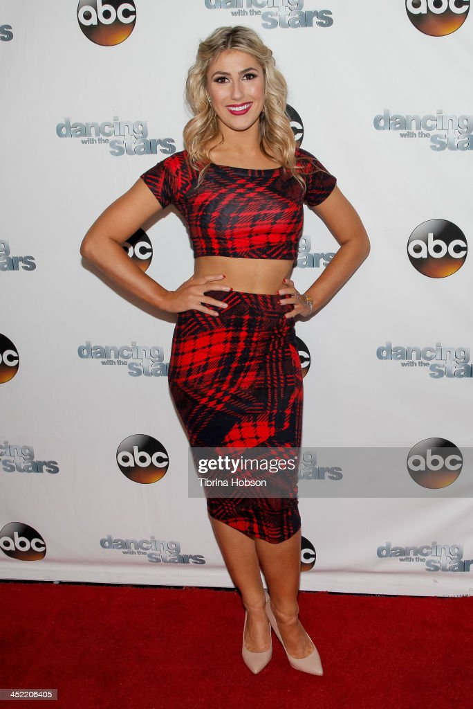 <a gi-track='captionPersonalityLinkClicked' href=/galleries/search?phrase=Emma+Slater&family=editorial&specificpeople=9080766 ng-click='$event.stopPropagation()'>Emma Slater</a> attends the 'Dancing With The Stars' wrap party at Sofitel Hotel on November 26, 2013 in Los Angeles, California.