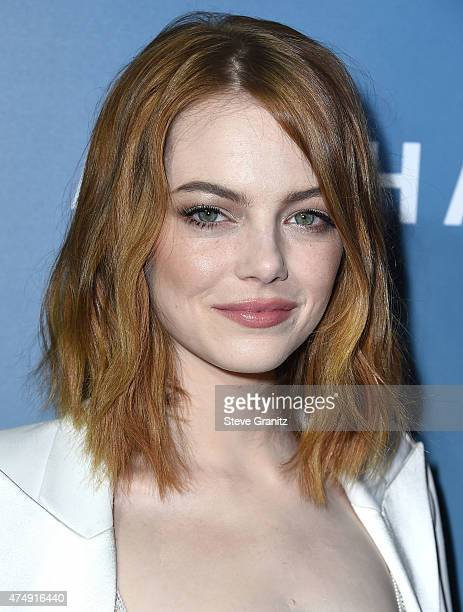Emma Stone arrives at the 'Aloha' Los Angeles Premiere at The London West Hollywood on May 27 2015 in West Hollywood California