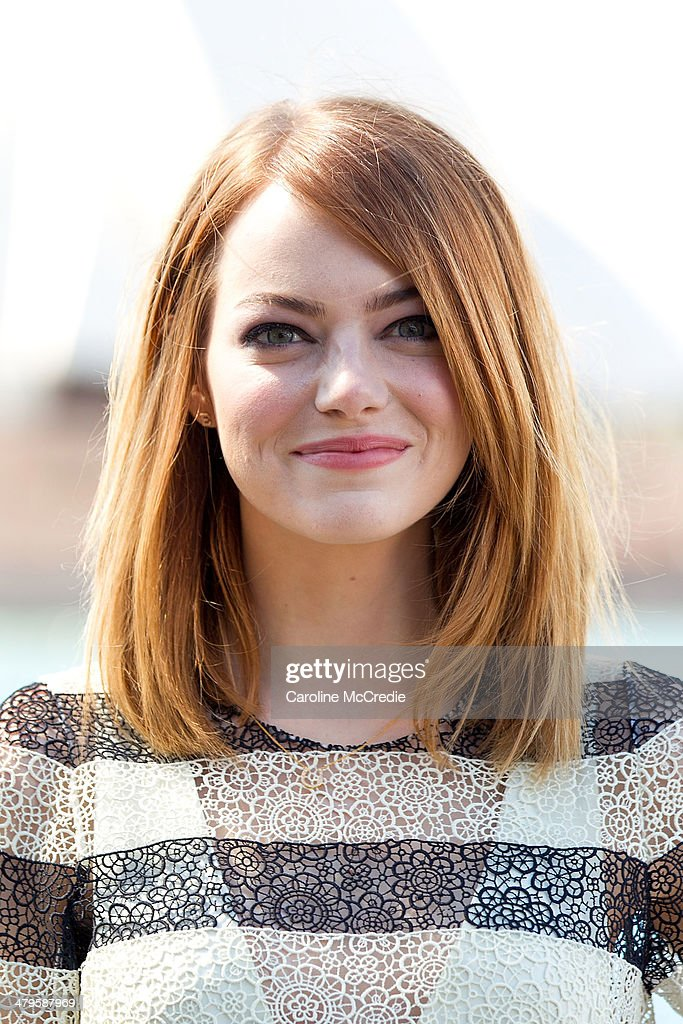 <a gi-track='captionPersonalityLinkClicked' href=/galleries/search?phrase=Emma+Stone&family=editorial&specificpeople=672023 ng-click='$event.stopPropagation()'>Emma Stone</a> at 'The Amazing Spider-Man 2: Rise Of Electro' photocall on March 20, 2014 in Sydney, Australia.