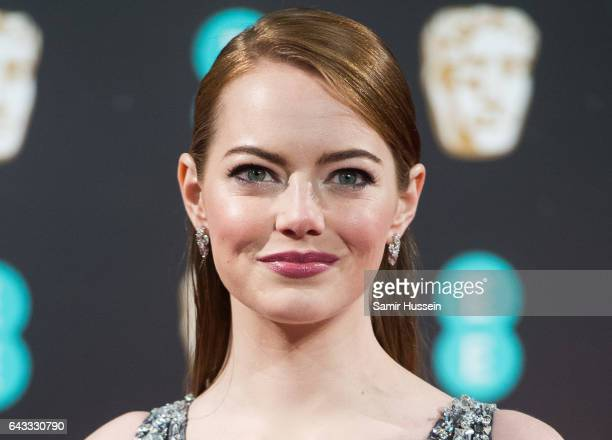 Emma Stone attends the 70th EE British Academy Film Awards at Royal Albert Hall on February 12 2017 in London England