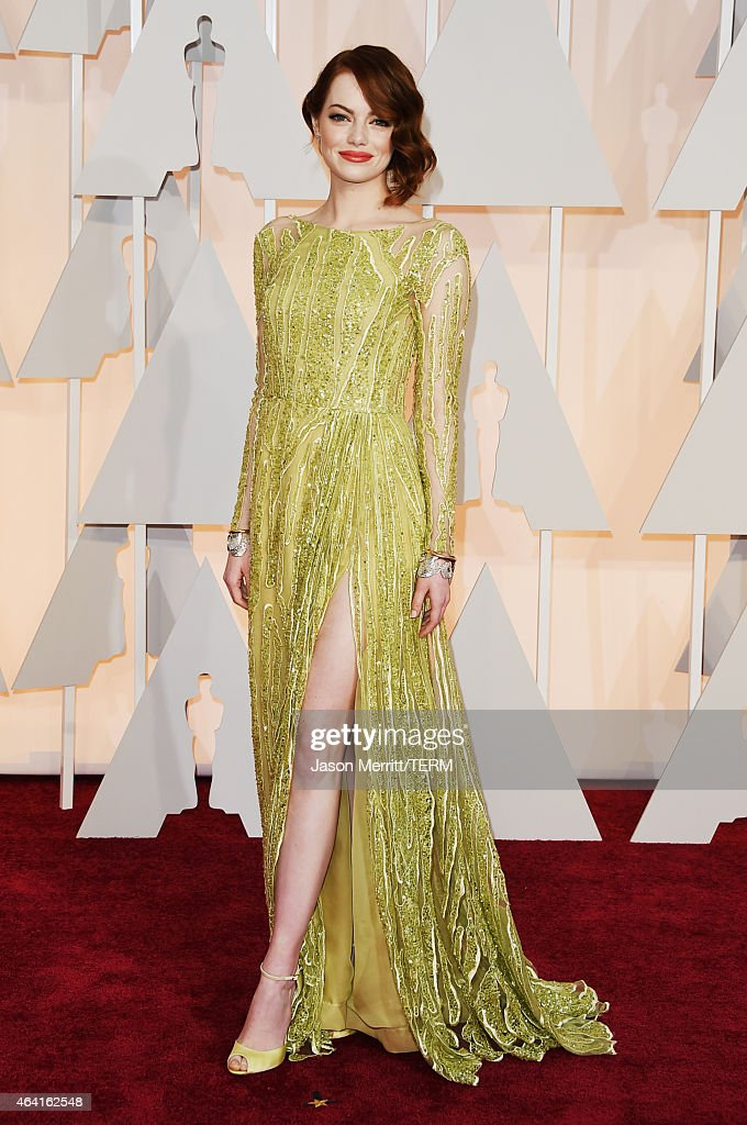 <a gi-track='captionPersonalityLinkClicked' href=/galleries/search?phrase=Emma+Stone&family=editorial&specificpeople=672023 ng-click='$event.stopPropagation()'>Emma Stone</a> attends the 87th Annual Academy Awards at Hollywood & Highland Center on February 22, 2015 in Hollywood, California.