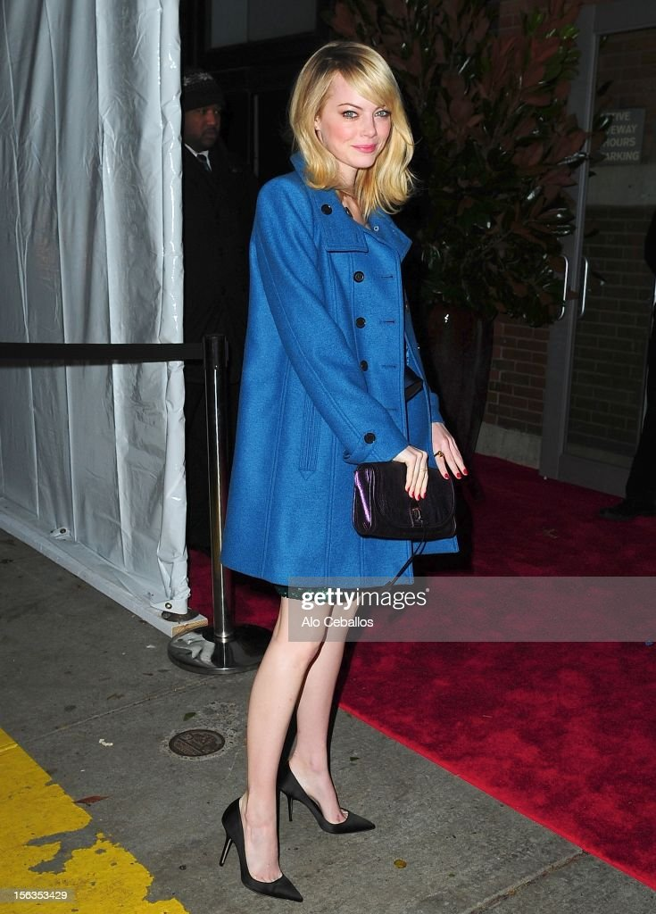 <a gi-track='captionPersonalityLinkClicked' href=/galleries/search?phrase=Emma+Stone&family=editorial&specificpeople=672023 ng-click='$event.stopPropagation()'>Emma Stone</a> attends the 9th annual CFDA/Vogue Fashion Fund Awards at Center 548 on November 13, 2012 in New York City.