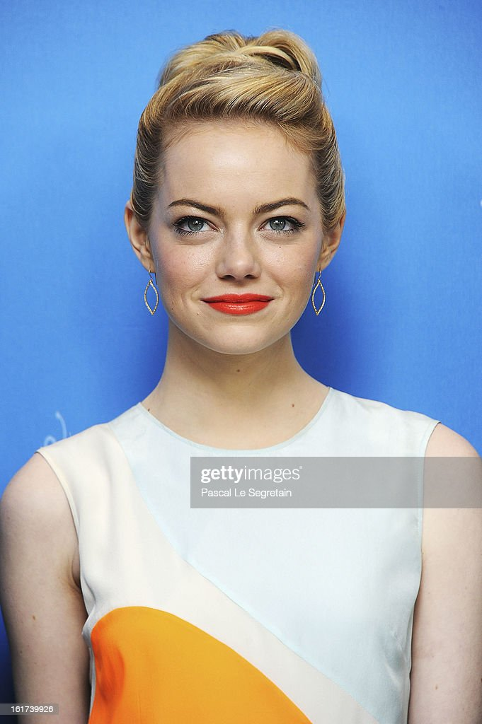 <a gi-track='captionPersonalityLinkClicked' href=/galleries/search?phrase=Emma+Stone&family=editorial&specificpeople=672023 ng-click='$event.stopPropagation()'>Emma Stone</a> attends the 'The Croods' Photocall during the 63rd Berlinale International Film Festival at the Grand Hyatt Hotel on February 15, 2013 in Berlin, Germany.