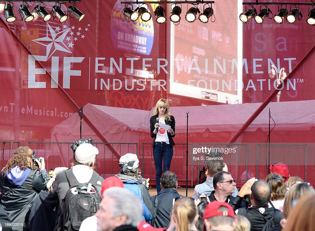 <a gi-track='captionPersonalityLinkClicked' href=/galleries/search?phrase=Emma+Stone&family=editorial&specificpeople=672023 ng-click='$event.stopPropagation()'>Emma Stone</a> speaks onstage at the 16th Annual EIF Revlon Run Walk For Women on May 4, 2013 in New York City.