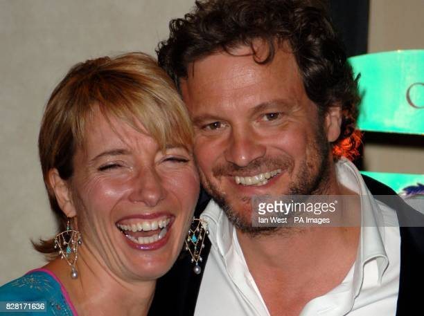 Emma Thompson and Colin Firth
