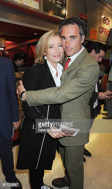 Emma Thompson and Greg Wise attend the UK Premiere of 'Morris A Life With Bells On' at the Prince Charles Cinema on September 24 2009 in London...