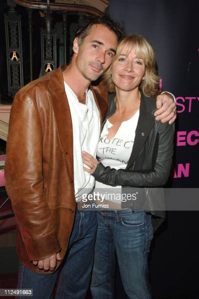 Emma Thompson and Greg Wise during Amnesty International Presents Secret Policeman's Ball Inside Arrivals at Royal Albert Hall in London Great Britain