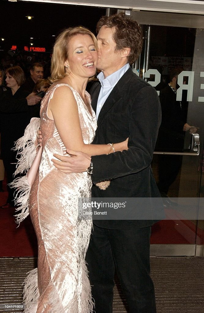 Emma Thompson And Hugh Grant, Love Actually Movie Premiere At The Odeon Leicester Square, London