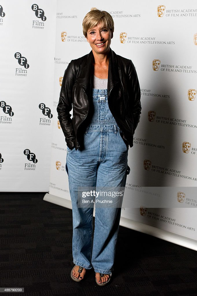 Emma Thompson attends a photocall for BAFTA's Screenwriter Lecture series at BFI Southbank on September 20, 2014 in London, England.