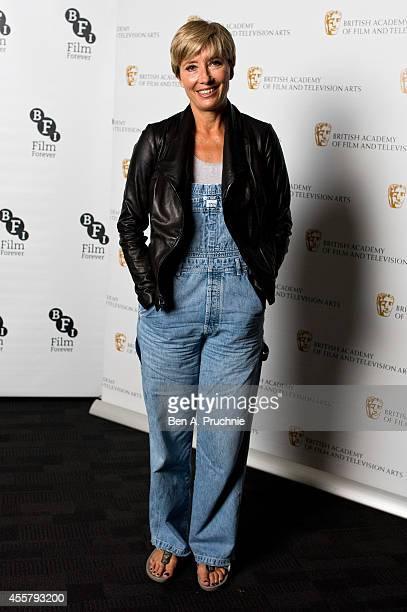 Emma Thompson attends a photocall for BAFTA's Screenwriter Lecture series at BFI Southbank on September 20 2014 in London England