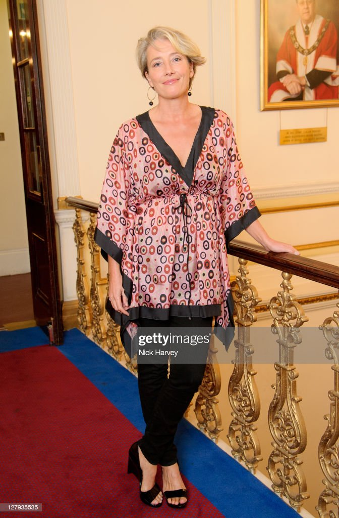 <a gi-track='captionPersonalityLinkClicked' href=/galleries/search?phrase=Emma+Thompson&family=editorial&specificpeople=202848 ng-click='$event.stopPropagation()'>Emma Thompson</a> attends the fundraising event to benefit The Helen Bamber Foundation at Bonhams on October 3, 2011 in London, England.