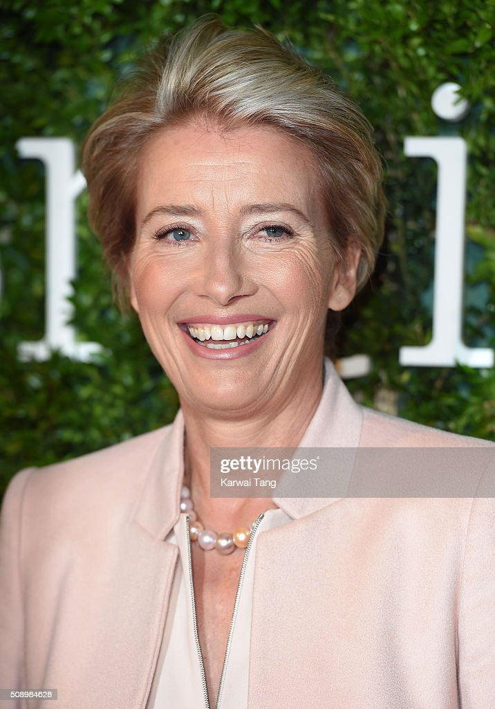 <a gi-track='captionPersonalityLinkClicked' href=/galleries/search?phrase=Emma+Thompson&family=editorial&specificpeople=202848 ng-click='$event.stopPropagation()'>Emma Thompson</a> attends the London Evening Standard British Film Awards at Television Centre on February 7, 2016 in London, England.