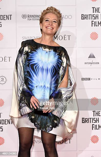 Emma Thompson attends the Moet British Independent Film Awards at Old Billingsgate Market on December 7 2014 in London England