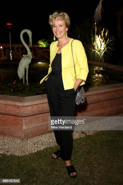 Emma Thompson attends the Netflix party during the 70th annual Cannes Film Festival at on May 21 2017 in Cannes France