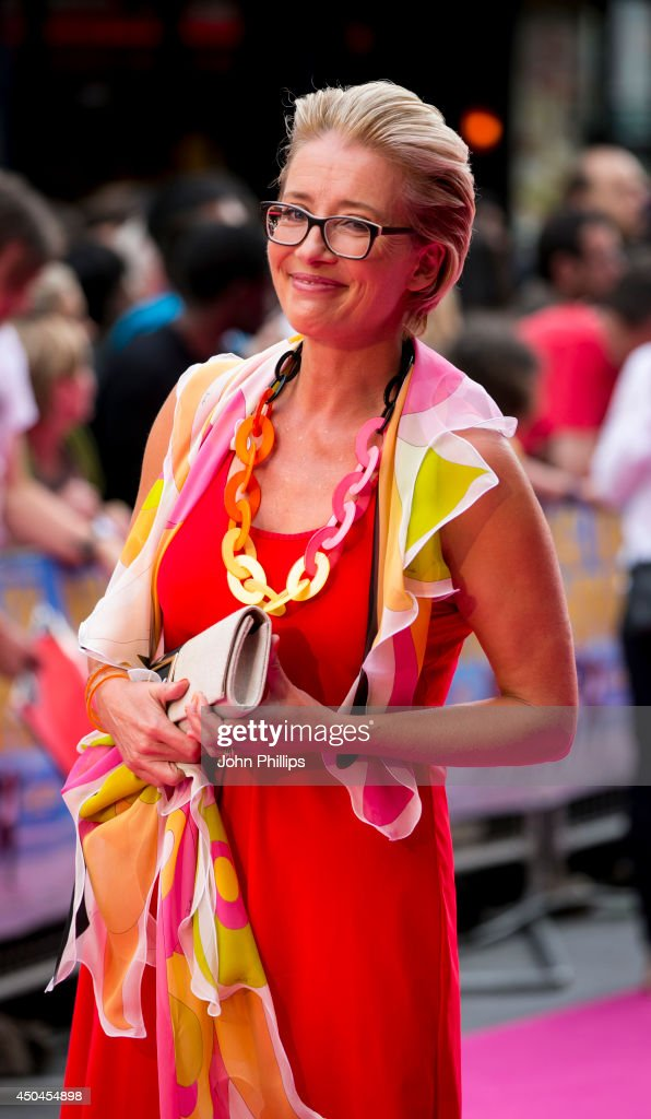 Emma Thompson attends the UK Premiere of 'Walking On Sunshine' at Vue West End on June 11, 2014 in London, England.