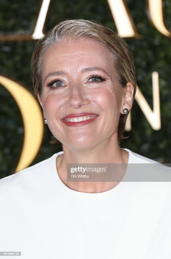 Emma Thompson attends UK launch event for 'Beauty And The Beast' at Spencer House on February 23, 2017 in London, England.