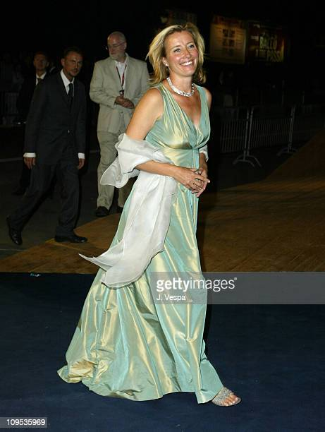 Emma Thompson during 2003 Venice Film Festival 'Imagining Argentina' Premiere at Palazzo del Cinema in Venice Lido Italy