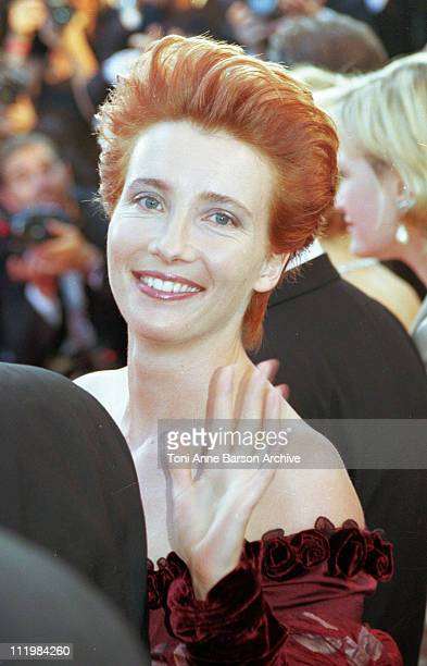 Emma Thompson during 51st Cannes Film Festival in Cannes France