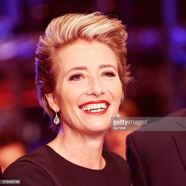 Emma Thompson during the presentation of the European Shooting Stars 2016 as part of the 66th Berlinale International Film Festival Berlin at...
