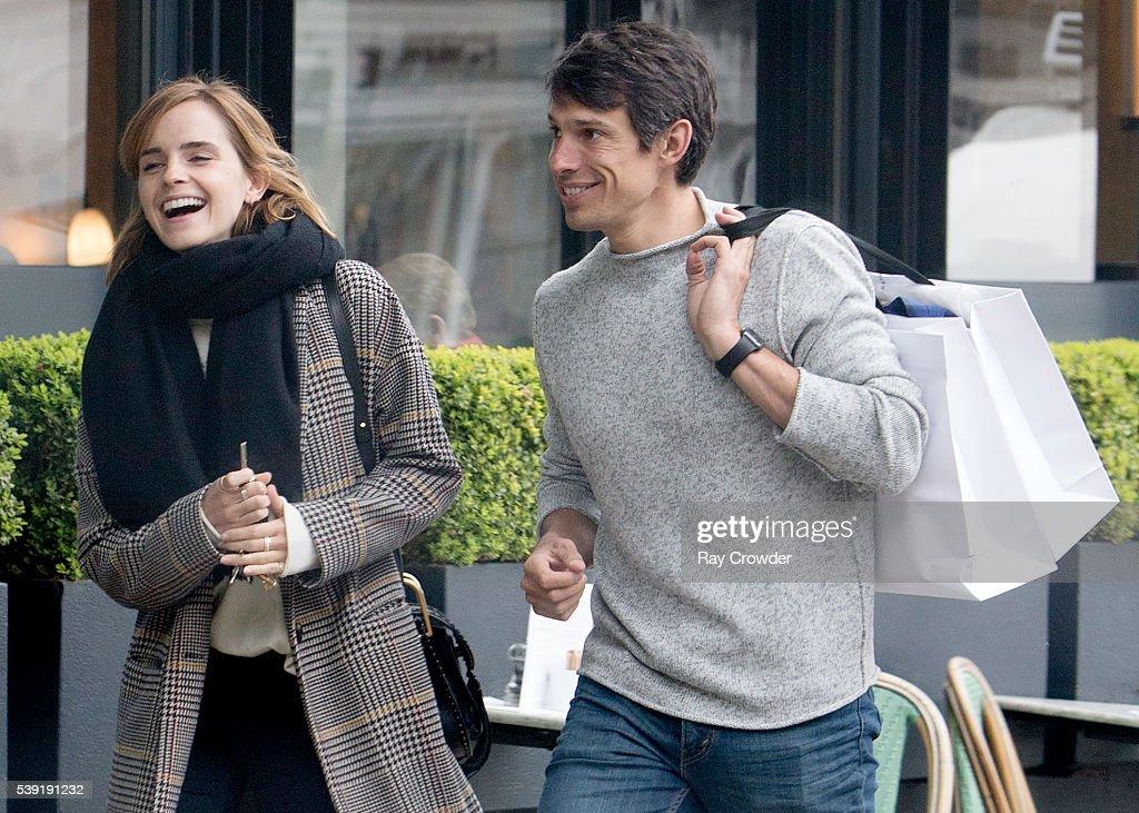 Emma Watson and boyfriend Max Knight sighting, 03 JUNE ... Emma Watson Boyfriend