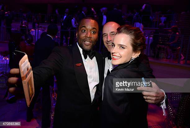 Emma Watson and Lee Daniels attend TIME 100 Gala TIME's 100 Most Influential People In The World at Jazz at Lincoln Center on April 21 2015 in New...